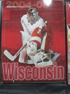 2004 2005 University of Wisconsin Badgers College Hockey Media Guide