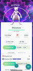 Pokemon Mewtwo - Legacy moveset Shadow ball - 3500 CP - TRADE