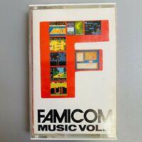 Rare  FAMICOM Music Vol.2  game Soundtrack Metroid etc. retro NES Cassette Tape