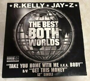"R. Kelly Jay Z ""The Best of Both Worlds"" LP 12"" Vinyl Record Def Jam VR-142"