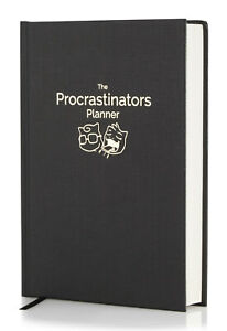 The Procrastinators Planner -Daily/Weekly Organiser Increase Productivity and Co
