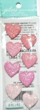 New! JOLEE'S BOTIQUE: GLITTER RESIN HEARTS IN PINKS