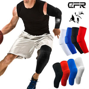 Sport Knee Pad Sleeve Guard Wrap Support Work Up Basketball Basketball Outdoor Brace 3/Colours L Black