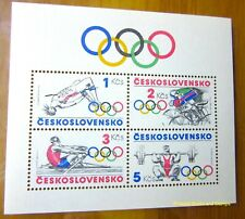 EBS Czechoslovakia 1984 - [Los Angeles] Olympics - Block 60 MNH**