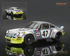 Porsche 911 RSR Carrera Martini 24H Le Mans 1973 Joest/Haldi, Spark Modell 1:18