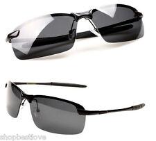 Stylish Unisex Polarized Sport Sunglasses - Shatter Resistant - UV400 - [Smoke]