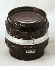 NIKON Nikkor-H Auto 1:3.5 f=28 mm Wide-Angle Lens with Nikon F Mount