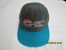 CHARLOTTE MOTOR SPEEDYWAY 100% COTTON MADE IN THE USA  N/WO/TAGS BALL CAP