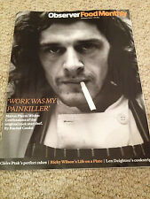 OBSERVER FOOD MAGAZINE JANUARY 2015 MARCO PIERRE WHITE CONFESSIONS RICKY WILSON