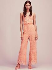 New Free People Nightcap Coconut Palm Jumpsuit Size XS $396