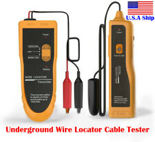 Usa Kolsol F02 Underground Cable Wire Locator Tracker Lan Tester With Earphone