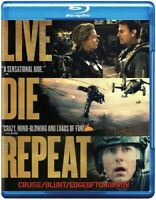 Edge of Tomorrow (Blu-ray Disc, 2014) Tom Cruise Emily Blunt NEW