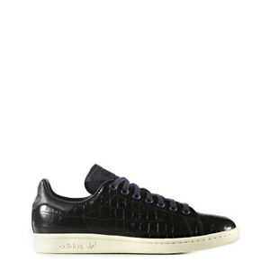 Adidas Stan Smith Damen Leder Sneaker Schwarz Gr. 37 NEU&OVP +Rechnung mit Mwst.