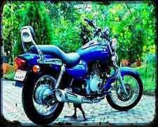 Bajaj Avenger 200 07 02 A4 Metal Sign moto antigua añejada De