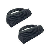 2 x Rubber Pet Hair Fur Removal Car Home Fabric Upholstery Carpet Seats Brush