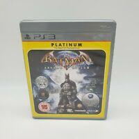 PlayStation 3 Batman: Arkham Asylum - Platinum PS3 Complete With Manual Free P&P