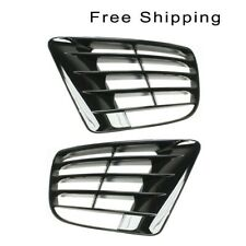 Fog Lamp Cover Set of 2 Lh & Rh Side Outer Fits 2012-2013 Volkswagen Golf R