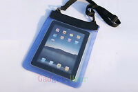 """Blue Waterproof Dry Bag Pouch Case Cover for PC Tablet Ebook Reader 7"""" 7in 4th"""