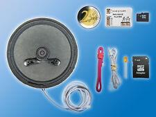 Soundmodul Mini Wave Player MWP2 inkl. 78mm Ø Lautsprecher | 4GB Micro SD Karte