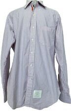 NEW, THOM BROWNE MEN'S STRIPED DRESS SHIRT, 3, $750