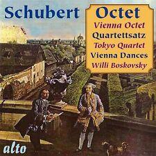 CD SCHUBERT OCTET QUARTETTSATZ VIENNIESE DANCES WILLI BOSKOVSKY VIENNA OCTET