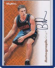 Bob Sura 1996 97 Skybox Autographics Cleveland Cavaliers
