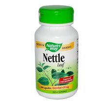 Natures Way Nettle Leaf 435MG 100 Cap Fertility Pregnancy Aid Womens Health
