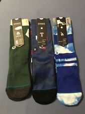 Stance Kids Socks Lot Of 3 Size 3-5.5