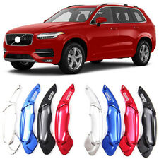 Alloy Steering Wheel DSG Paddle Extension Shifters Cover Fit For Volvo XC90 14+