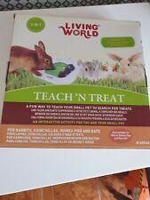 Living World Teach 'n' Treat Interactive Rabbit Toy