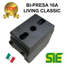 Bticino PRESA BIPASSO BIPRESA LIVING CLASSIC 16A