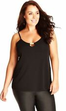 Polyester Tank, Cami City Chic Machine Washable Tops & Blouses for Women