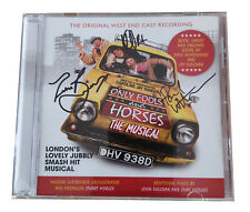 Only Fools and Horses The Musical (original West End Cast) CD Signed X 3