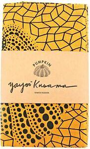 Yayoi Kusama Tenugui Cotton Towel Yellow Pumpkin Artist New Collectible Japan