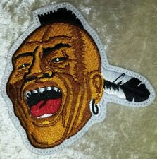 "Atlanta Braves Noc-A-Homa Mascot 4"" Iron /Sew On Embroidered Patch~FREE SHIP!~"