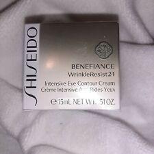 Shiseido Benefiance WrinkleResist 24 Intensive Eye Contour Cream 15 ml 0.51 Oz