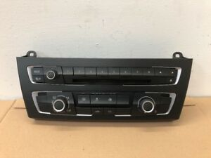 BMW 1 SERIES F20 F21 PRE LCI A/C HEATER RADIO CONTROL PANEL 9207197