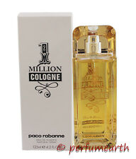 Paco 1 MILLION COLOGNE by Paco Rabanne Tster 4.2 oz/125 ml  EDT Spray New Tster