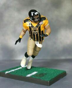 """Custom McFarlane 6"""" NFL Kevin Greene Pittsburgh Steelers 1994 Throwback"""