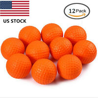 Golf Balls PU Foam Sponge 12 Pcs/Pack 1 Dozen 4 Colors Choose TaylorMade