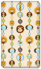 100%25 COTTON FITTED SHEET WITH PRINTED DESIGN FOR BABY CRIB COT COTBED JUNIOR BED