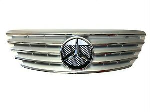 Mercedes Benz Silver Grille S Class W220 S430 S500 S55 1999 2000 2001 2002