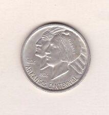 EE. UU. 1936 Arkansas centenario medio dólar de plata en casi nuevo y sin usar