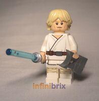 Lego Luke Skywalker Minifigure from sets 75052 + 75059 Star Wars NEW sw551