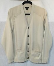 GORGEOUS CARDIGAN SWEATER LUXURY COTTON by ALFANI size LARGE