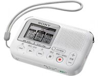NEW SONY Memory Card Recorder White ICD-LX31/W With Tracking With Tracking