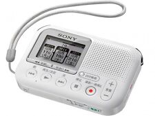NEW SONY Memory Card Recorder White ICD-LX31/W Free Shipping With Tracking
