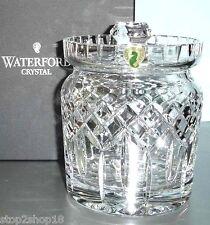 Waterford Crystal Lismore Biscuit Barrel Lidded Cookie Jar/Canister New
