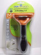 Authentic FURminator deShedding Tool for MEDIUM DOG LONG HAIR 21-50lbs NEW