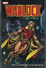 WARLOCK JIM STARLIN COMPLETE COLLECTION MARVEL '14 SOFTCVR GN TPB BRONZE AGE NEW